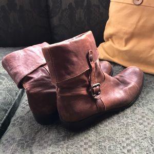 Vero Cupid ManasDesign leather booties sz 40